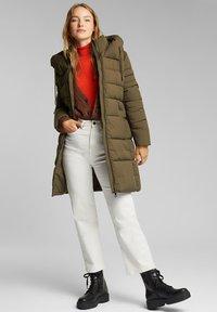 Esprit - Winter coat - khaki green - 2