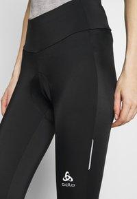 ODLO - ELEMENT - 3/4 sportovní kalhoty - black - 4