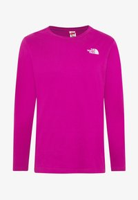 The North Face - MENS BOX TEE - T-shirt à manches longues - wild aster purple - 3