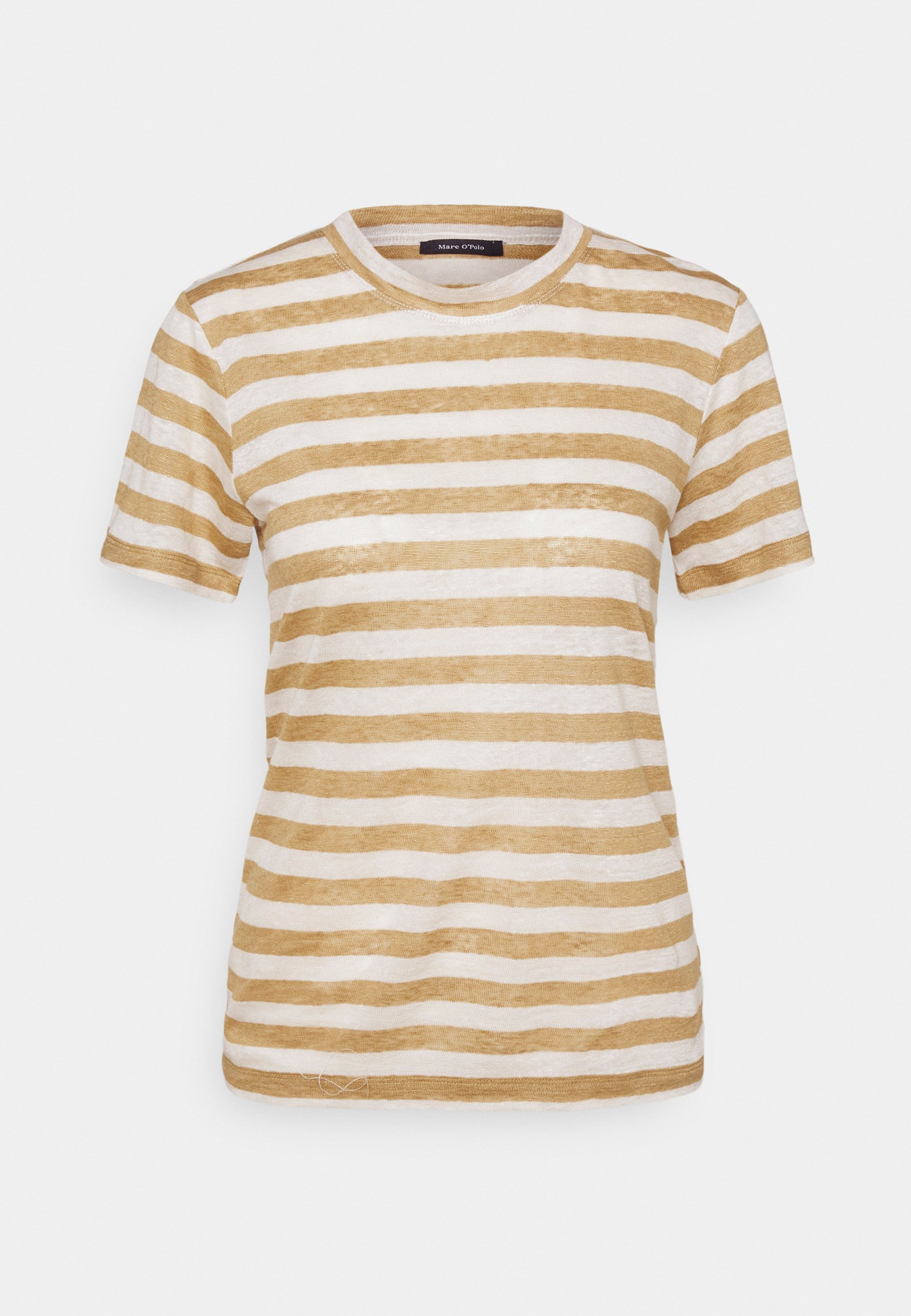 Women SHORT SLEEVE ROUND NECK SLIM FIT STRIPED - Print T-shirt