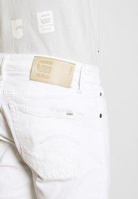 G-Star - 3301 SLIM SHORT - Jeansshorts - elto white - 4