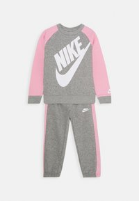 Nike Sportswear - OVERSIZED FUTURA CREW SET - Trainingspak - grey heather - 0