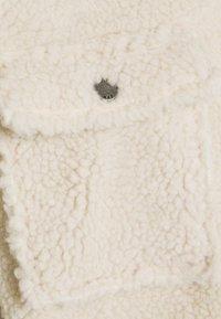 Noisy May Petite - NMSAKIRAN LONG SHACKET - Winter jacket - eggnog - 2