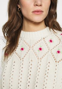 Notes du Nord - TALLY - Jumper - winter white - 5