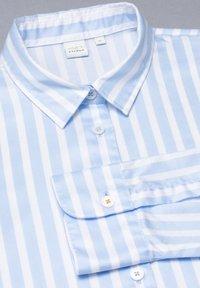 Eterna - Button-down blouse - hellblau/weiß - 4