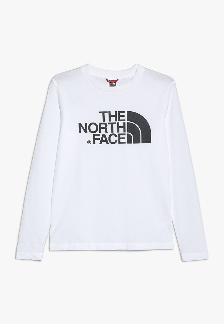 The North Face - EASY UNISEX - Long sleeved top - white