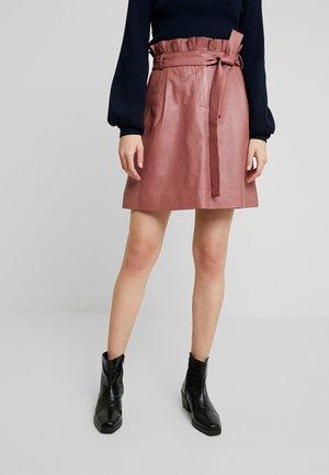 LAYA - Áčková sukně - cherry