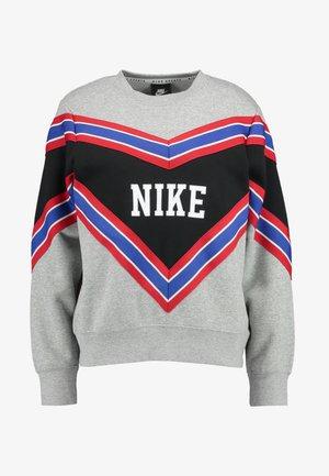CREW - Sweater -  grey heather/black/white