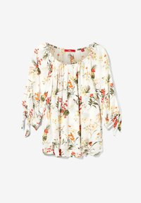 s.Oliver - IM LAYER-LOOK - Blouse - cream flowers aop - 2