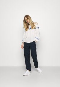Marks & Spencer London - CARGO - Cargo trousers - dark blue - 1
