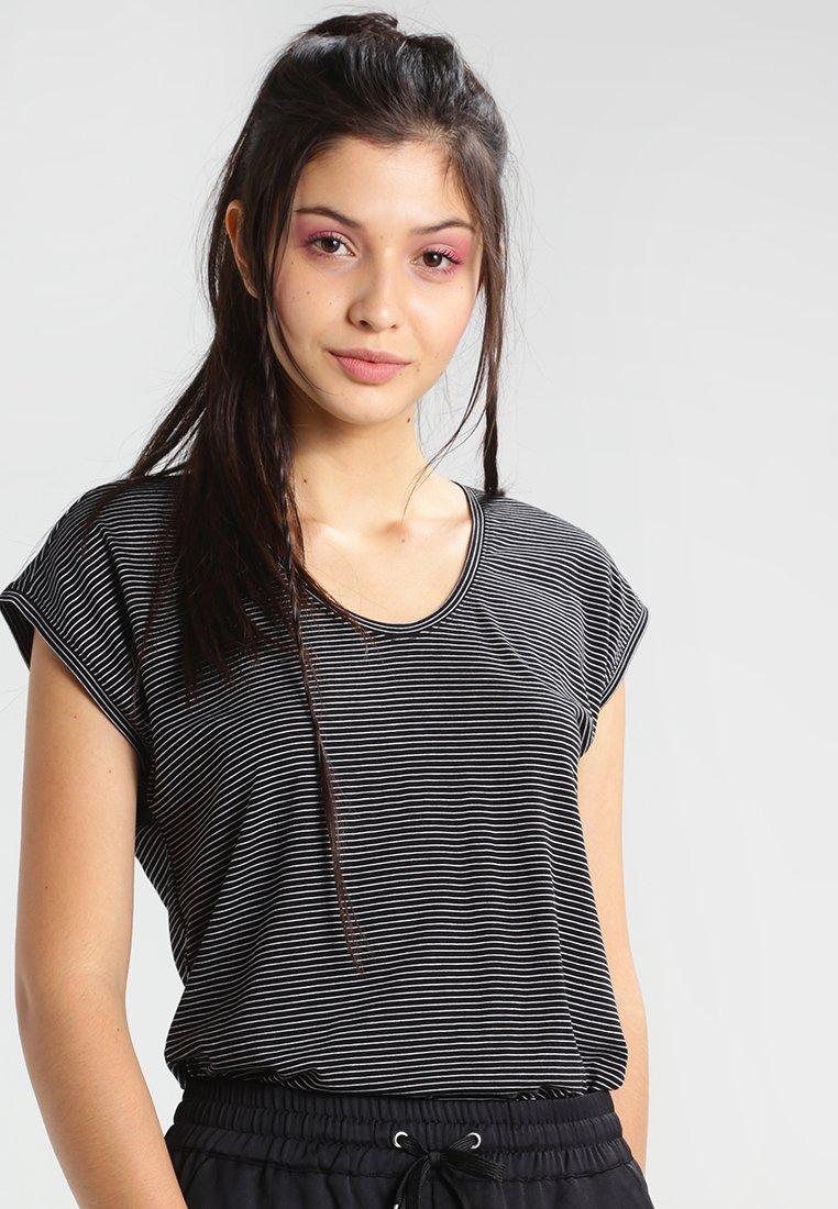 Pieces - PCBILLO - Print T-shirt - black