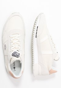 Lacoste - PARTNER RETRO  - Baskets basses - offwhite/natural - 3