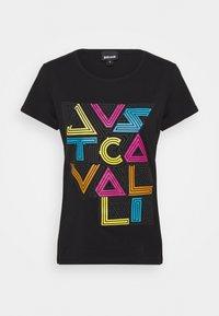 Just Cavalli - Triko spotiskem - black - 0