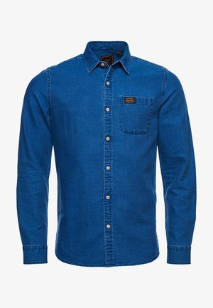 WORKWEAR - Shirt - textured indigo dobby