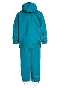 CeLaVi - RAINWEAR SUIT BASIC SET WITH FLEECE LINING - Rain trousers - turquoise - 1