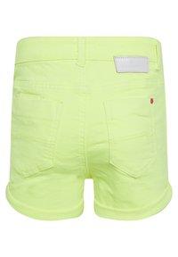 WE Fashion - Denim shorts - bright yellow - 1