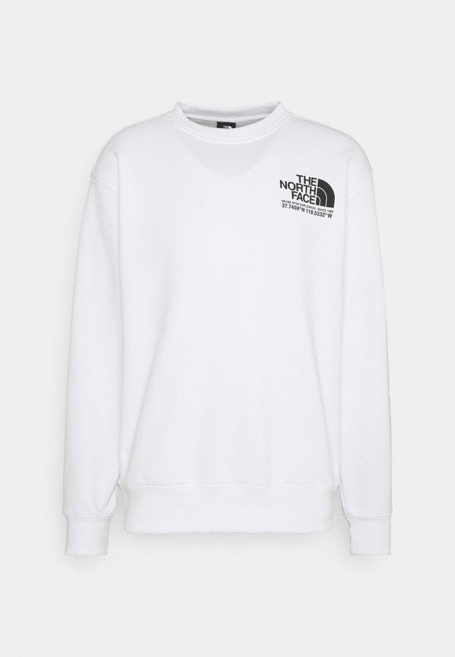 COORDINATES CREW - Sweater - tnf white