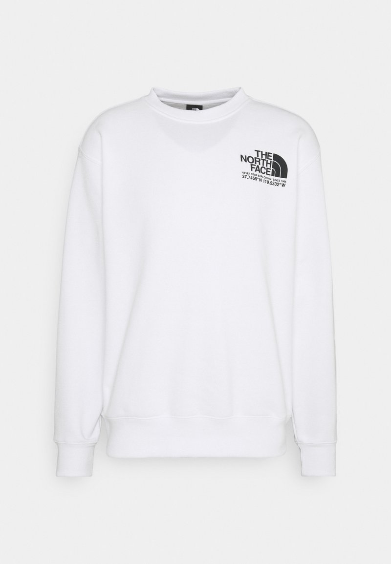 The North Face - COORDINATES CREW - Sweatshirt - tnf white