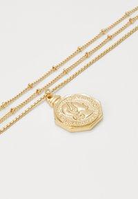 Pieces - PCLIZZA COMBI NECKLACE - Necklace - gold-coloured - 2