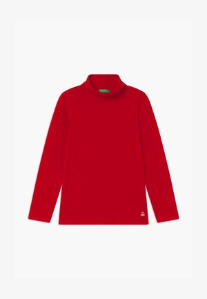 TURTLE NECK  - T-shirt à manches longues - red