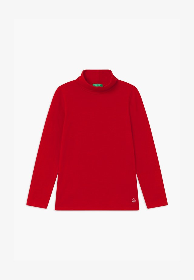 TURTLE NECK  - Long sleeved top - red