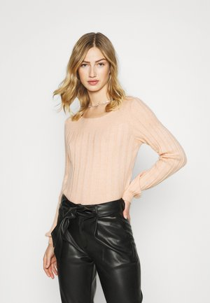 VMLUCIA O NECK BLOUSE - Jumper - rose dust melange