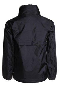 Puma - LIGA TRAINING RAIN JACKET CORE - Hardshell jacket - black/white - 2