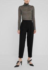 Bruuns Bazaar - CINDY DAGNY PANT - Trousers - black - 0