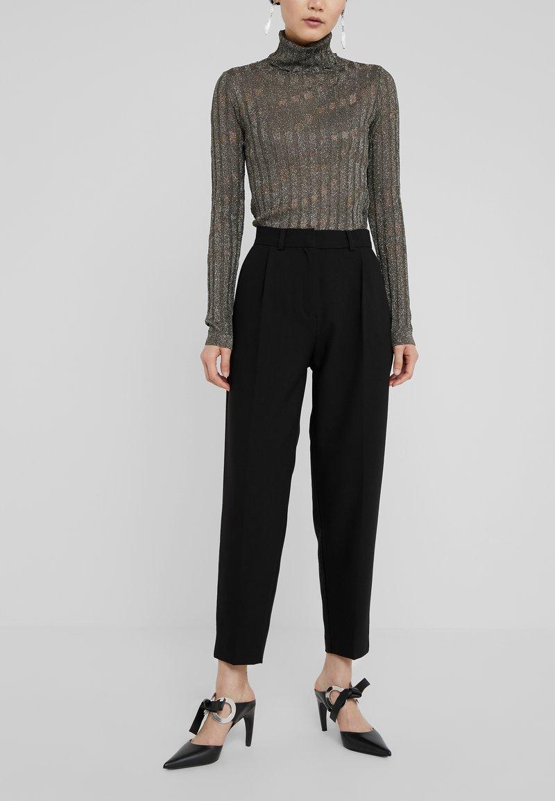 Bruuns Bazaar - CINDY DAGNY PANT - Trousers - black