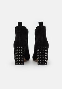 Steven New York - HAYLEY - High heeled ankle boots - black - 3