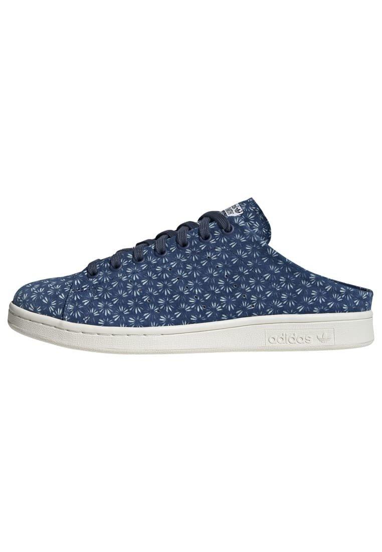 Geringster Preis adidas Originals STAN SMITH MULE SHOES - Slipper - blue | Damenbekleidung 2020
