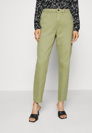 MODERN TAPE - Jeans a sigaretta - olive