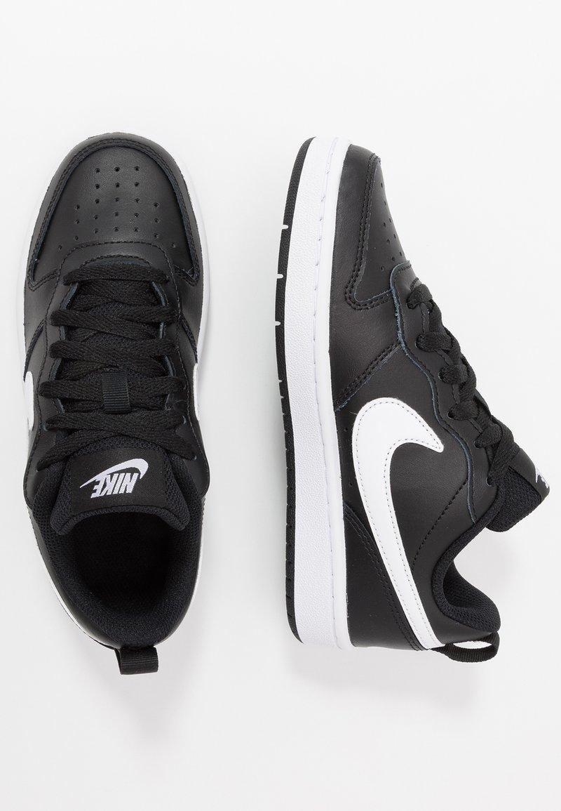 Nike Sportswear - COURT BOROUGH UNISEX - Baskets basses - black/white