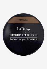 IsaDora - NATURE ENHANCED FLAWLESS COMPACT FOUNDATION - Foundation - mocha - 2