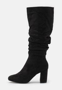 New Look - BILLIE - Vysoká obuv - black - 1