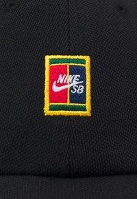 Nike SB - UNISEX - Czapka z daszkiem - black - 3