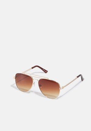UNISEX - Sunglasses - gold-coloured
