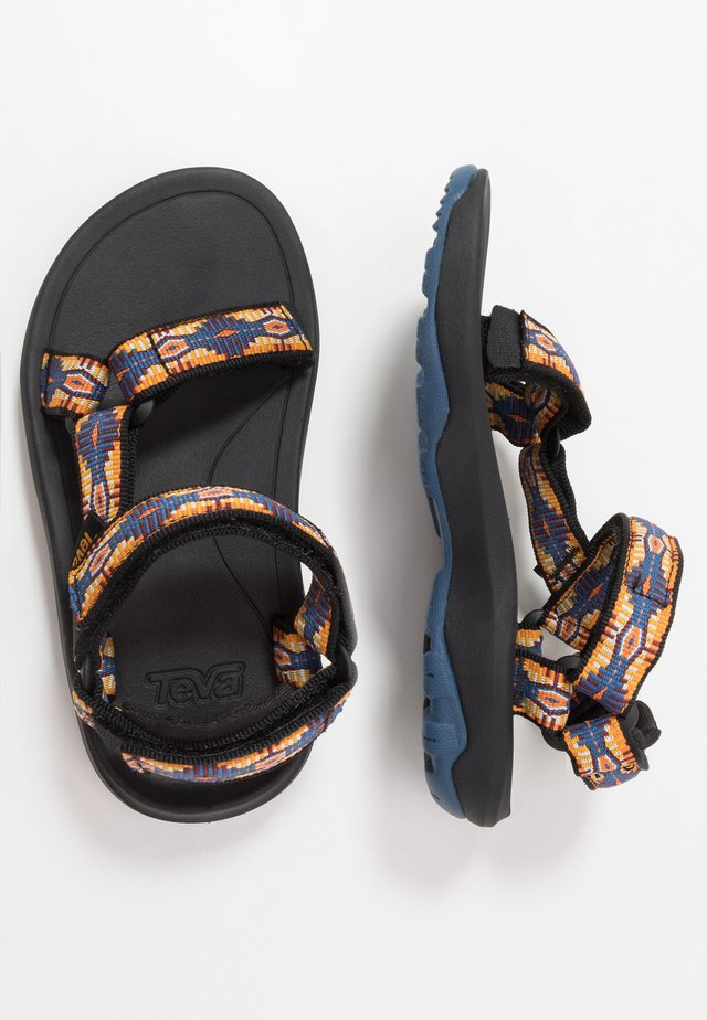 Walking sandals - blue/yellow