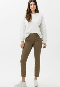 BRAX - STYLE SHAKIRA S - Jeans Skinny Fit - clean tobacco - 1