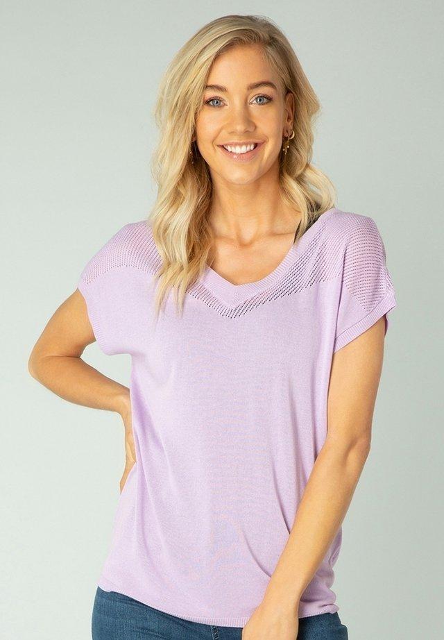 NANDY - T-shirt basic - lilac