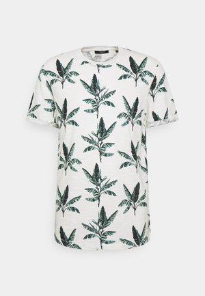 JPRBLABEACH TEE - T-shirt z nadrukiem - egret