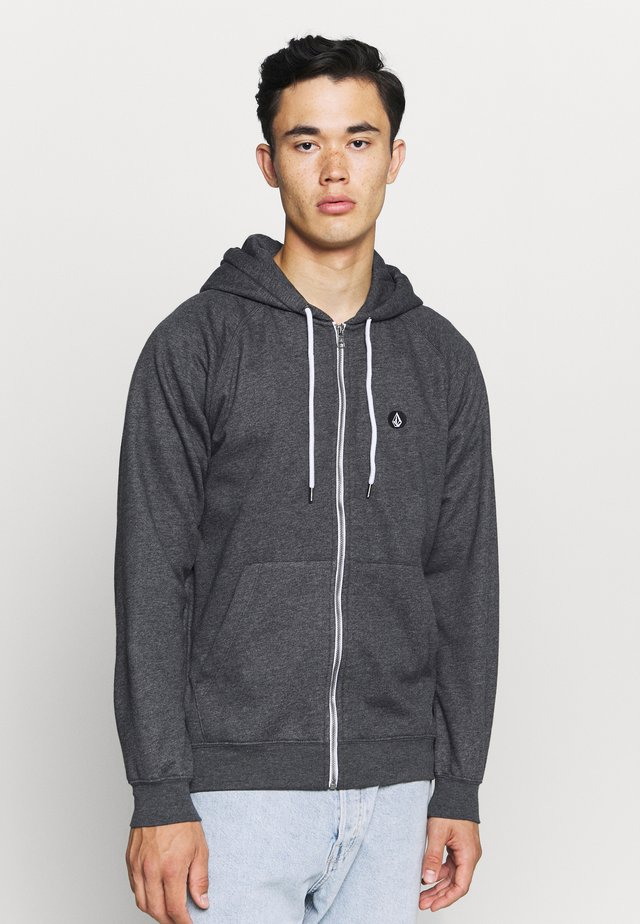 TIMESOFT ZIP - Zip-up hoodie - anthracite