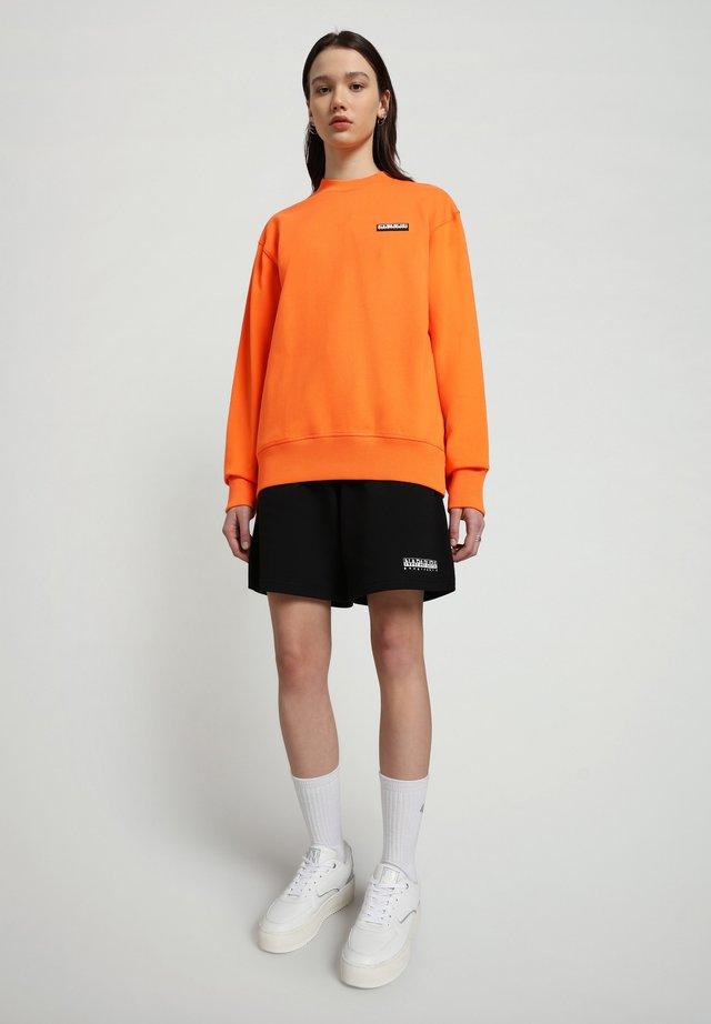 B-PATCH CREW - Felpa - orangeade