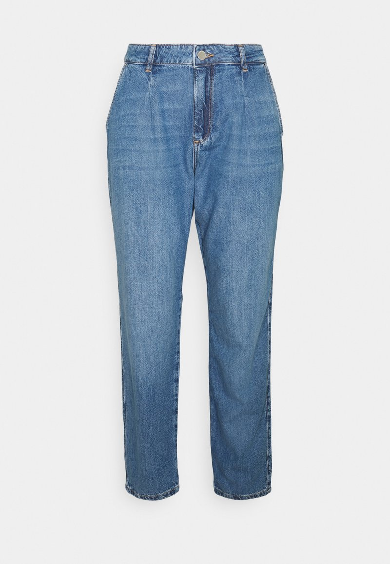 comma casual identity - Jeansy Relaxed Fit - blue