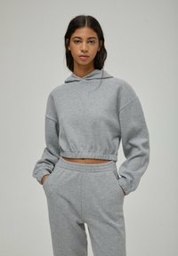 PULL&BEAR - Sweat à capuche - grey - 0