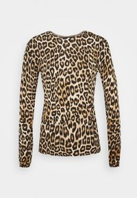 Dorothy Perkins - ANIMAL CREW NECK JUMPER - Jumper - camel - 6