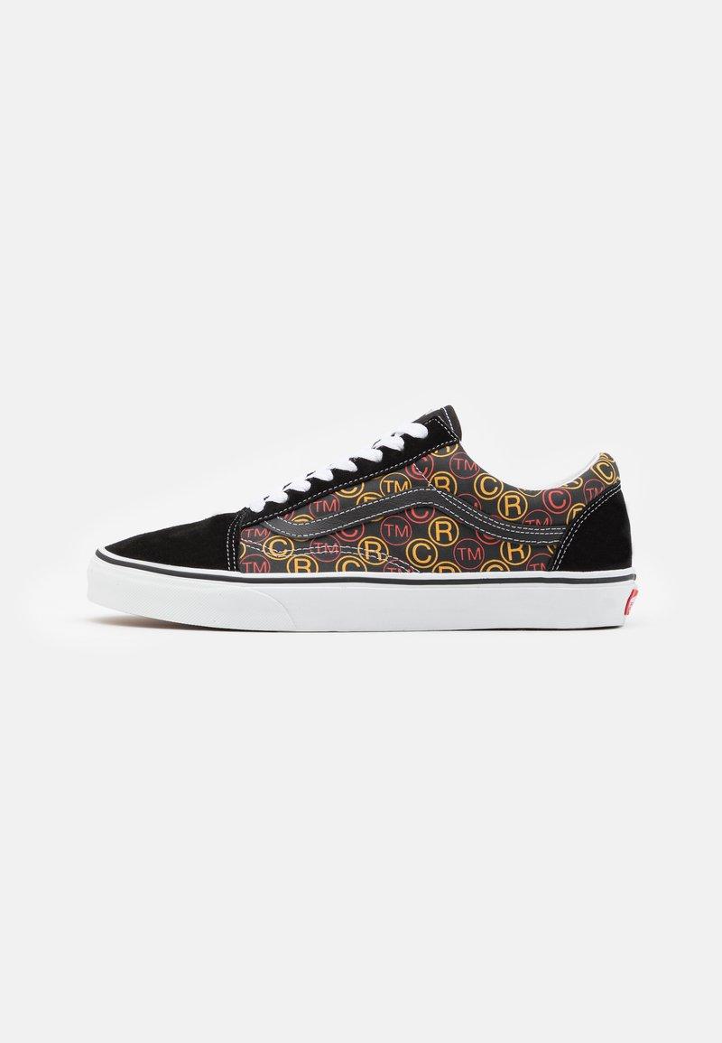 Vans - OLD SKOOL UNISEX - Sneakers - black/true white