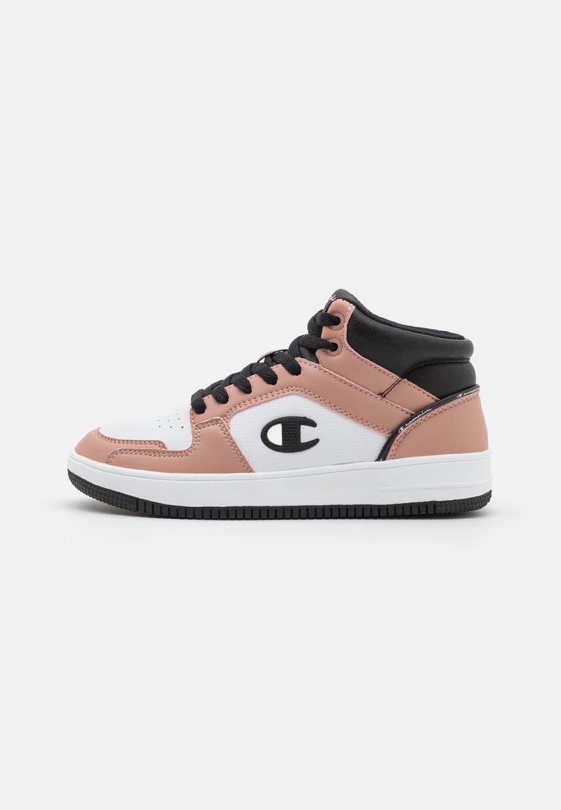 Champion - MID CUT SHOE REBOUND 2.0  - Basketball shoes - pink/white/black