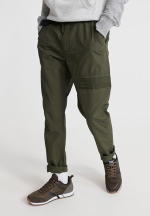 Trousers - utl olive