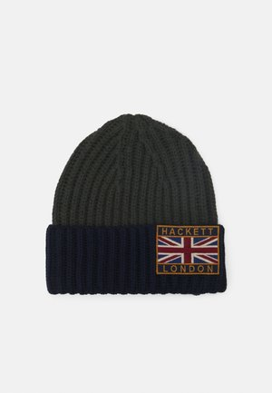 BEANIE - Bonnet - green/navy